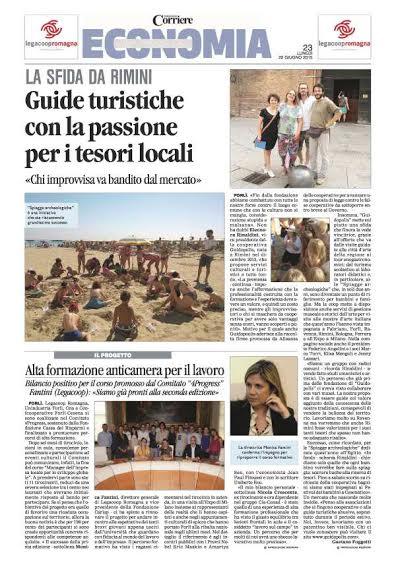 Corriere Romagna intervista Corr Romagna 2015